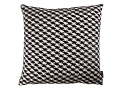 Zig Zag Birds Cushion Monochrome