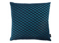 Zig Zag Birds Cushion Teal