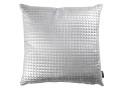 Moonlit Pyramid Cushion Silver
