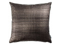 Moonlit Pyramid Cushion Carbon