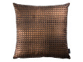 Moonlit Pyramid Cushion Bronze