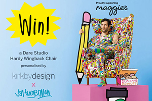 Kirkby Design and Dare Studio support Maggies Charity