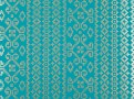 Kasbah Wallcovering Moroccan Blue