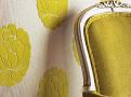 Miraflores Flock Wallcovering Lime 1