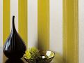 Miramar Flock Wallcovering Lime 1