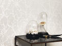 Arbor Beads Wallcovering Silver 1