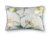 Japonica Embroidery Cushion Cypress Image 2