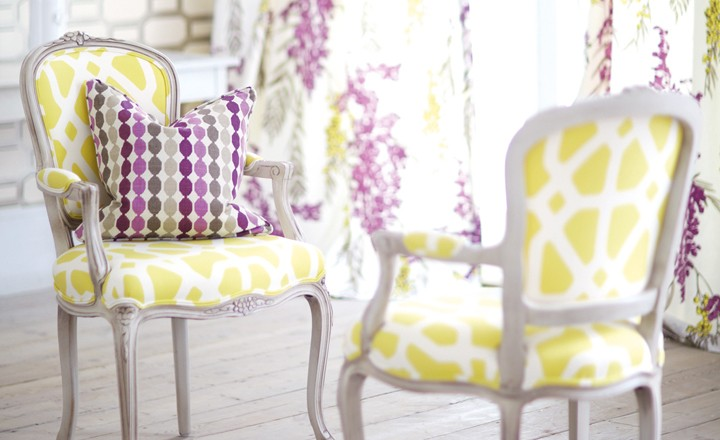 Romo Fougere Fabrics available to buy online at Marsh & Co.