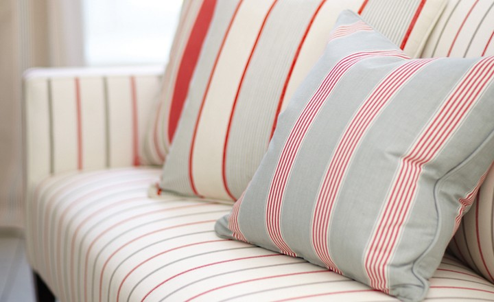 Romo Somerford Cotton Stripes available to buy online at Marsh & Co.