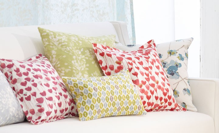 Romo Tulipa Fabrics available to buy online at Marsh & Co.