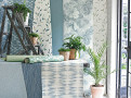Malmo Wallcovering Teal 1
