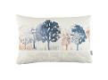 Treescape Cushion Indigo