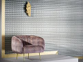 Domino Pyramid Wallcovering Steel 1