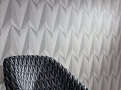 Origami Rockets Wallcovering Concrete 1