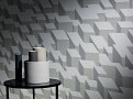 Cubic Bumps Wallcovering Concrete 2