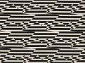 Stripey Zig Zag Birds Monochrome