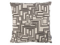 Electro Maze Cushion Monochrome