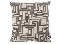 Electro Maze Cushion Monochrome