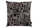 Electro Maze Cushion Noir