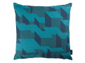 Cubic Bumps Cushion Teal