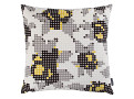 Peg Art Roses Cushion Aluminium