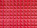 Domino Pyramid Wallcovering Crimson