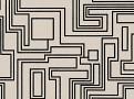 Electro Maze Wallcovering Monochrome