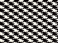 Zig Zag Birds Wallcovering Monochrome
