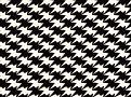 Zig Zag Birds Wallcovering Monochrome