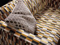 Bakerloo Cushion Neon Orange Image 3