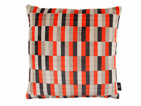 District Cushion Neon Orange Image 2