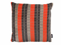 Marylebone Cushion Neon Orange Image 2