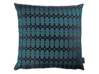 Loopy Link Cushion Teal Image 2