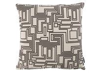 Electro Maze Cushion Monochrome Immagine