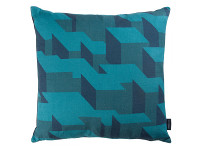 Cubic Bumps Cushion Teal Image 2