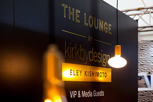 The Eley Kishimoto Lounge at designjunction