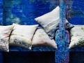 Pleasure Gardens Cushion Frost Flower 1