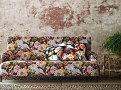 Herbaria 50cm Cushion Malva 2