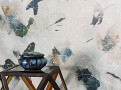Orimono Wallcovering Peacock 1
