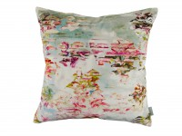 Pleasure Gardens Velvet Cushion Image 2
