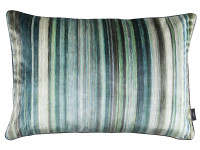 Tomoko Velvet 60cm x 40cm Cushion Malachite Image 2