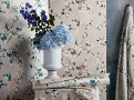 Floris Wallcovering Spring Rose 1