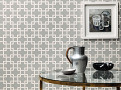 Orden Wallcovering Charcoal 1