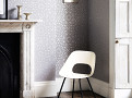 Merletto Wallcovering Silver 1