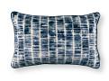 Kamakura 50cm x 30cm Cushion Indigo