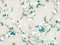 W411 Floris Wallcovering Peacock