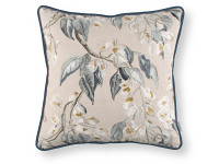Wisteria Embroidery Cushion Cumin Image 2