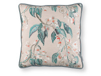 Wisteria Embroidery Cushion Cayenne Image 2