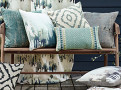 Marka Cushion Teal 1