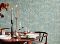 Venezia Wallcovering Teal 1